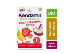 Kendamil Organická/BIO banánová, jahodová kaše 150 g