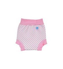 Plavky Happy Nappy - růžová kostka
