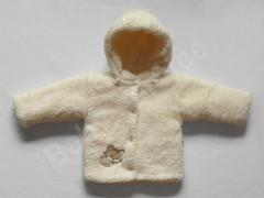 Zimní kojenecký kabátek Liška smetanový vel. 56 - 80 Baby Service