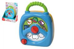 Plastová hrací skříňka vhodná pro děti od 12m