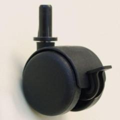Kolečka černá, sada 4 ks - vhodná k postýlkám Scarlett (postýlky s kódem R)