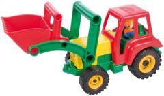 Traktor se lžící aktivní plast 35cm
