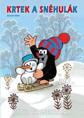 Omalovánky Krtek a sněhulák A4