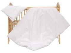 Dětské povlečení 2dílné - Scarlett Blanka - bílé 100 x 135 cm
