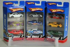 Hot Wheels Angličák 3 ks v balení Mattel