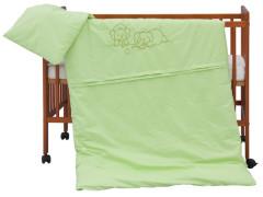 Dětské povlečení 2dílné - Scarlett Bimbo - zelené 100 x 135 cm