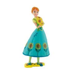 Figurka Anna v tyrkysových šatech