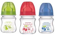 Canpol babies láhev se širokým hrdlem EasyStart Fruits 120 ml
