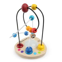 Hračka dřevěná labyrint Color Mixer Hape 12 m+