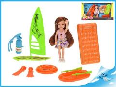 Plážová panenka s doplňky