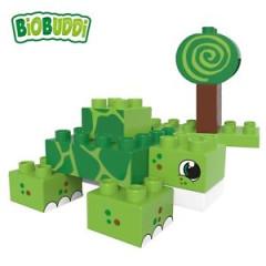 BiOBUDDi stavebnice Wildlife Swamp 2v1 želva/šnek 12 ks 18 m+