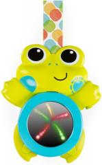 Hračka hudební závěsná se světlami žába Bright Starts