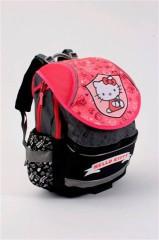 Anatomický školní batoh Hello Kitty Pink and Grey