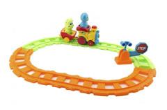 Vlak/Vláček s vagónky a zvířátky 30cm 24m+