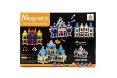 Magnetická stavebnice domeček 75 ks