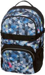 Studentský batoh be.bag cube SNOWBOARD
