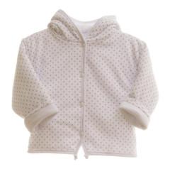 Oboustranný kabátek MKCool Thermo hvězdičky s kapucí