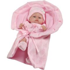 Luxusní dětská panenka-miminko Berbesa Valentina 28 cm