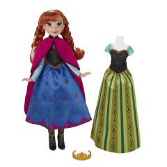 Frozen panenka s náhradními šaty  - Anna
