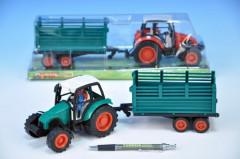 Traktor s vlečkou 33cm na setrvačník