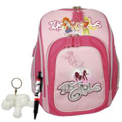 Školní batoh Cool Cherry set - 3dílná sada