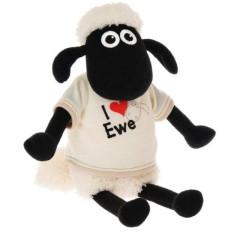 Ovečka Shaun v tričku I love Ewe