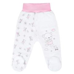 Kojenecké polodupačky New Baby Bears Růžové