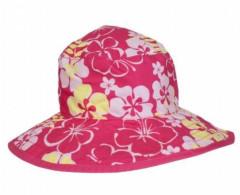 Dětský UV klobouček Baby Banz Sun Blossom růžový oboustranný 0 - 2 ROKY