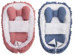 Hnízdečko s peřinkou pro miminko Belisima Angel Baby