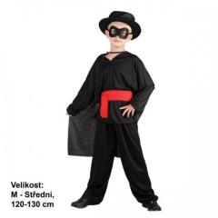 Dětský kostým Maskovaný bandita 120-130cm