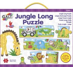 Dlouhé podlahové puzzle - Džungle