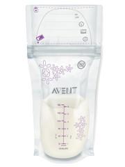Sáčky na mateřské mléko 25 ks 180 ml