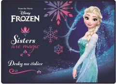 Desky na číslice Frozen - Ledové království