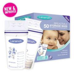 Lansinoh sáčky na skladování mateřského mléka 50ks