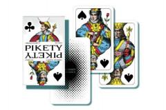 Hrací karty Pikety v papírové krabičce