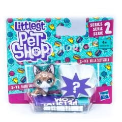 Littlest Pet Shop Dvě zvířátka - RADAR SNOWCAT a BELLA SCOTSFELD