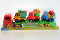 Šroubovací kamion s autíčky