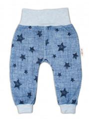 Dětské tepláčky Baby Nellys Hvězdička Jeans