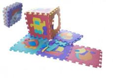 Pěnové puzzle dopravní prostředky 29x29 cm, 10ks