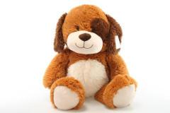 Plyšový pes hnědý 56 cm
