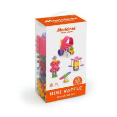 Marioinex Mini wafle 70 ks Konstruktér (dívky)