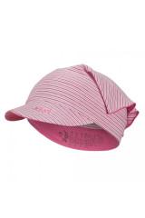 Šátek tenký kšilt Outlast® - pruh sv.růžovobordový