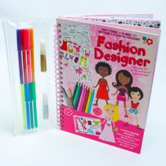 Meadow Kreslicí kniha se samolepkami Módní návrhářka