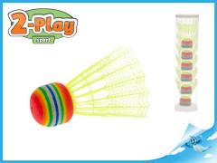 Košíčky na badminton žluté 2-Play 6ks