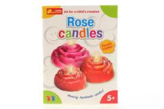 Výroba svíček - růže