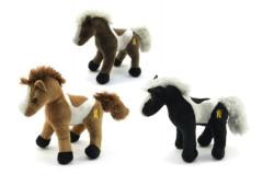 Kůň plyš 26cm se zvukem