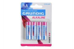 Baterie Grundig  LR6/AA 1,5V Alkaline 4ks