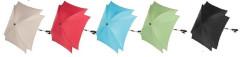 Slunečník ke kočárku čtvercový s UV filtrem Zopa design