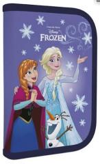 Penál 1patrový 2 chlopně Frozen III. fialový