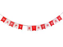 Závěsná dekorace Happy Birthday